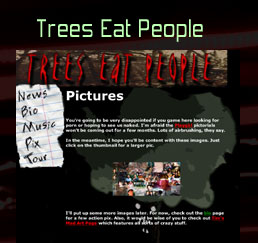 Trees Eat People (my band)